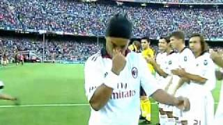 FC Barcelona Vs AC Milan - Ronaldinho Return of the King - 25/08/10