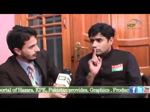 Abrar-ul-haq President Pti Youth Wing Exclusive Interview With Hcp 28 April 2012 video