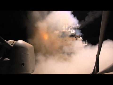 USS Philippine Sea launches Tomahawk Land Attack Missiles to combat ISIL