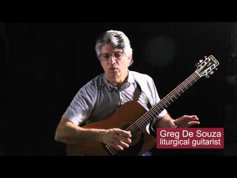 Liturgical Guitarist Greg De Souza: How to play tune AR HYD Y NOS