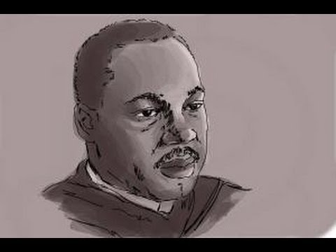 Martin Luther King jr Drawing Step by Step How to Draw Martin Luther King