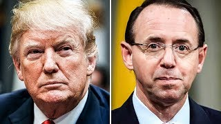 Rod Rosenstein Isn't Fired Yet, But Everyone Expects Trump To Do It Thursday