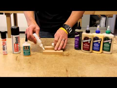 Using CA Glue and Titebond Wood Glue Together thumbnail