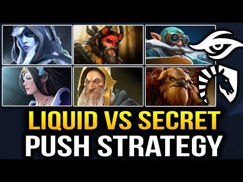 LIQUID VS SECRET - Full Push Strat [Game 2] Dota 2 7.07