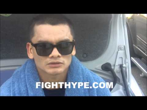 MARCOS MAIDANA SAYS FLOYD MAYWEATHER IS JUST ANOTHER FIGHTER HES NOT AN ALIEN