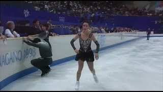 [HD] Pair FS - Group 4 Warming Up - 1998 Nagano Olympics