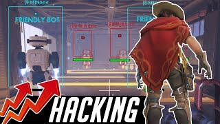 The Rise of Hackers and Cheaters in Overwatch