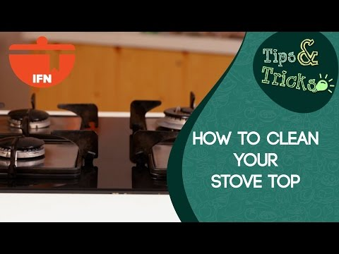 Greasefree and Spotless Stove Top, Right Here!! || IFN Tips & Tricks || How To