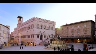 Italy city at night 5 - Perugia/Arezzo - extracts