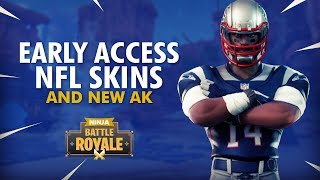 NFL SKINS EARLY | NEW AK?! 16 Elims