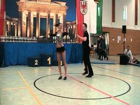 Aleksandra Starikova & Christoph Balow - Landesmeisterschaft Berlin 2012