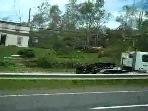 Massachusetts Tornado Disaster: RT 20 - Brimfield, MA 6-1-11