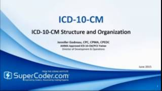 ICD-10-CM Structure and Organization webinar