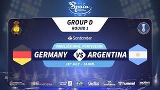 #Handtastic | PR - Group D | Germany : Argentina