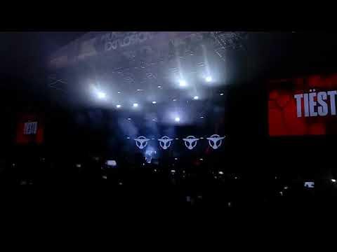 Tiesto Na Music Power Explosion  2018 We Wrocławiu
