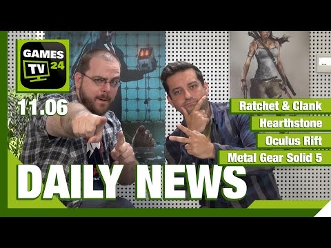 Ratchet & Clank, Hearthstone, Metal Gear Solid 5 | Games TV 24 Daily - 11.06.2015
