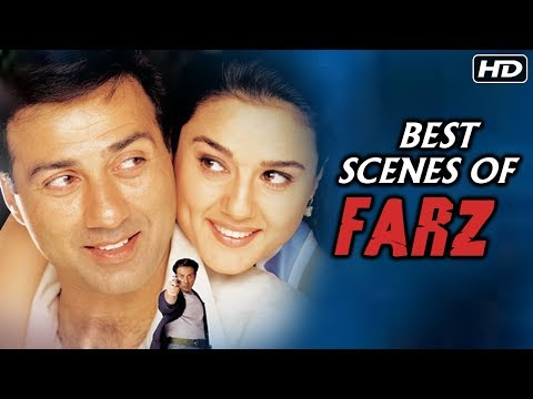 Best Of Farz | Action Scenes Of Sunny Deol From Farz | Sunny Deol, Preity Zinta, Johnny Lever