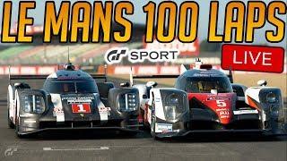 Gran Turismo Sport: 100 Laps of Le Mans Endurance Race