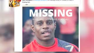 'THE MISSING PLAYER' : Rugby player Lyle Asiligwa's temporary disappearance goes viral