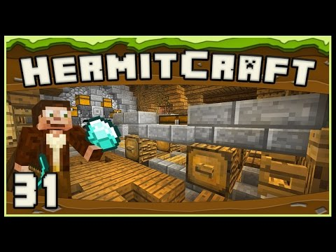 HermitCraft 4:  Magic Minecart Diamond Delivery System