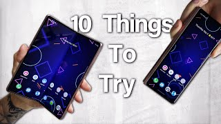 04. Galaxy Z Fold 2 Unboxing and First 10 Things To Try
