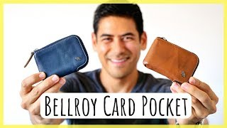 Bellroy Card Pocket | Minimalist Wallet for Credit Card Collectors