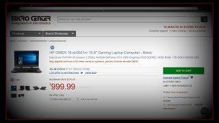 HP OMEN 15 Series Gaming Laptop Reviews and Shopping $900-$1500 Range