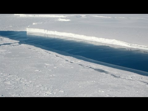 Scientists find tower-high channel beneath Antarctica ice shelf