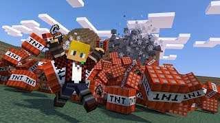 Cool guys don't look at explosions ~minecraft~