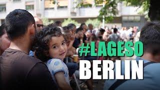 Flüchtlinge warten auf Notunterkunft