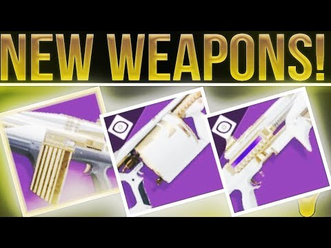 Destiny 2. New Raid Lair Weapons, Leviathan Masterwork Weapons, Cayde-6 Forged Weapons & More!