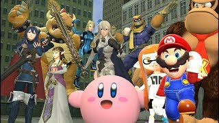 [Super Smash Bros. SFM/GMOD] Daily Smash Routine