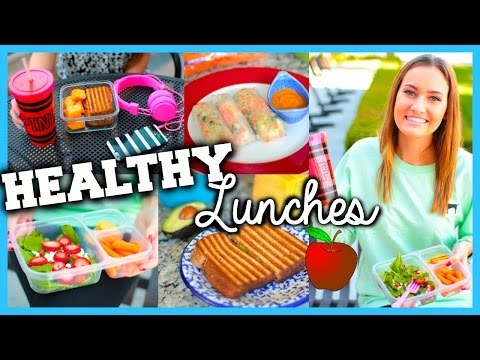 Healthy & Easy Lunch Ideas for School!