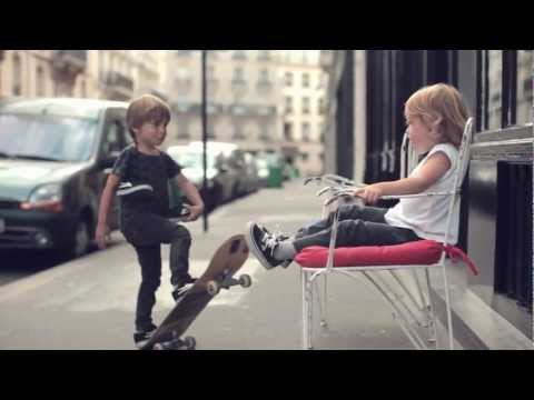 Lakai The Kid  Awesome 4 years old skateboarder