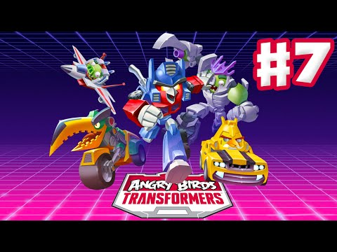Angry Birds Transformers - Gameplay Walkthrough Part 7 - Soundblaster Rescue! (ios) video