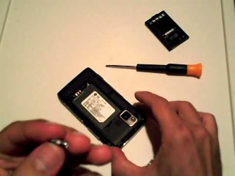 How to fix the Camera Start Error on an LG Dare LG9700 mobile cell phone