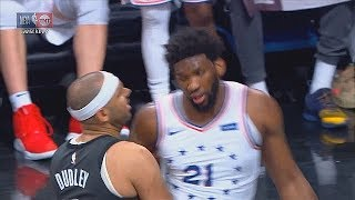 Jared Dudley Wanna Fight Joel Embiid & Jimmy Butler! Sixers vs Nets Game 4 2019 NBA Playoffs