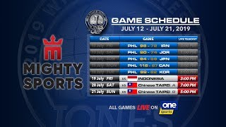 JULY 19: 41st William Jones Cup: Mighty Sports - Go for Gold Philippines vs Indonesia