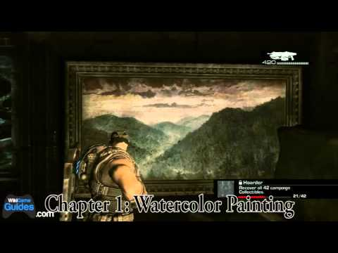 Gears of War 3 Collectibles (Hoarder Achievement) - Act 3 -- Chapter 1: Unbreakable