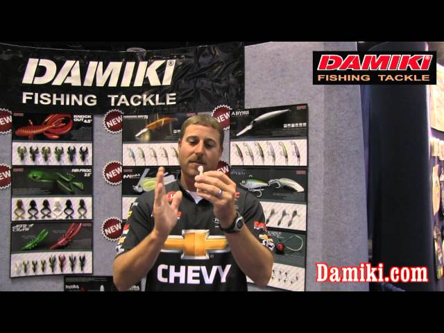 Bryan Thrift Shows Damiki 4 inch Anchovy Shad at ICAST