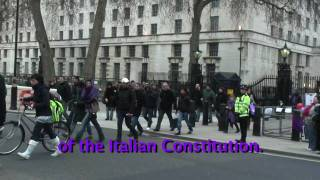 Letter to Gordon Brown - Emergency Italy