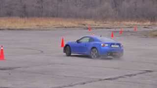 Drift. Subaru BRZ drifting. Stock Toyota GT86 and Scion FRS drift practice.
