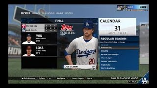 MLB® The Show™ 18 Franchise ep56 Dodger vs Philies Game 4
