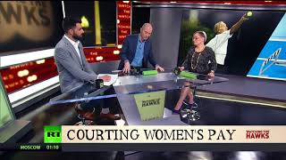 Facebook Analytica & Courting Women's Pay | Watching The Hawks on RT America |