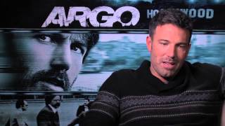 Argo - Ben Affleck Interview Exclusive: Ben Affleck on Argo Movie's Journey from Wired to Hollywood