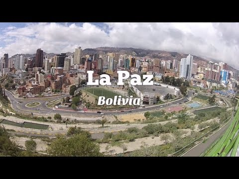 City Tour La Paz, Bolivia & Urban Rush (Travel Video Blog 041)