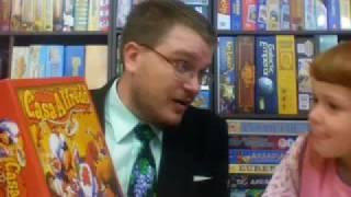 DTV003 - Dice Tower Videocast - Kid Games A - with Tom and Holly Vasel