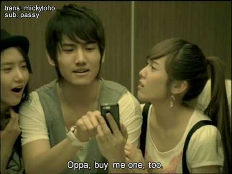 DBSK-SNSD Haptic CF Part 1,2,3 [ ENG SUB ]