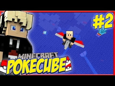 Minecraft PokeCube Revival Episode 2 - EXP SHARE AND GYARADOS TAKEOVER! Pokemon in Minecraft!
