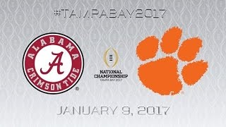2017 NATIONAL CHAMPIONSHIP TRAILER ᴴᴰ // #1 Alabama Crimson Tide vs #2 Clemson Tigers
